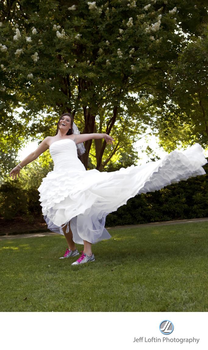 Dallas Arboretum bridal photographer