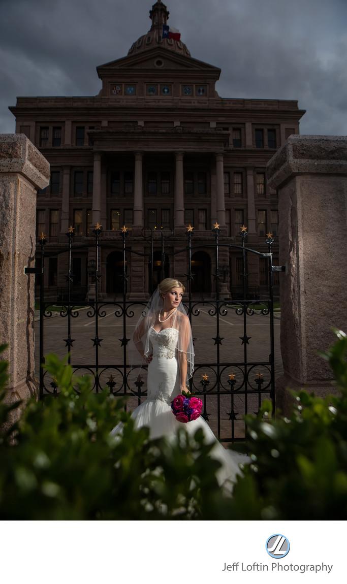 Capital of Texas bridal photographer
