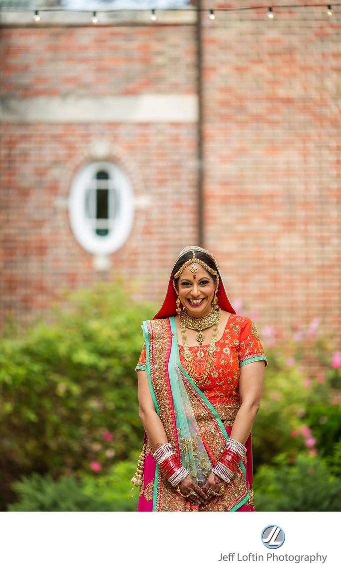Indian bride portrait austin texas