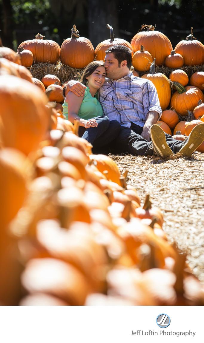engagement photo dallas arboretum