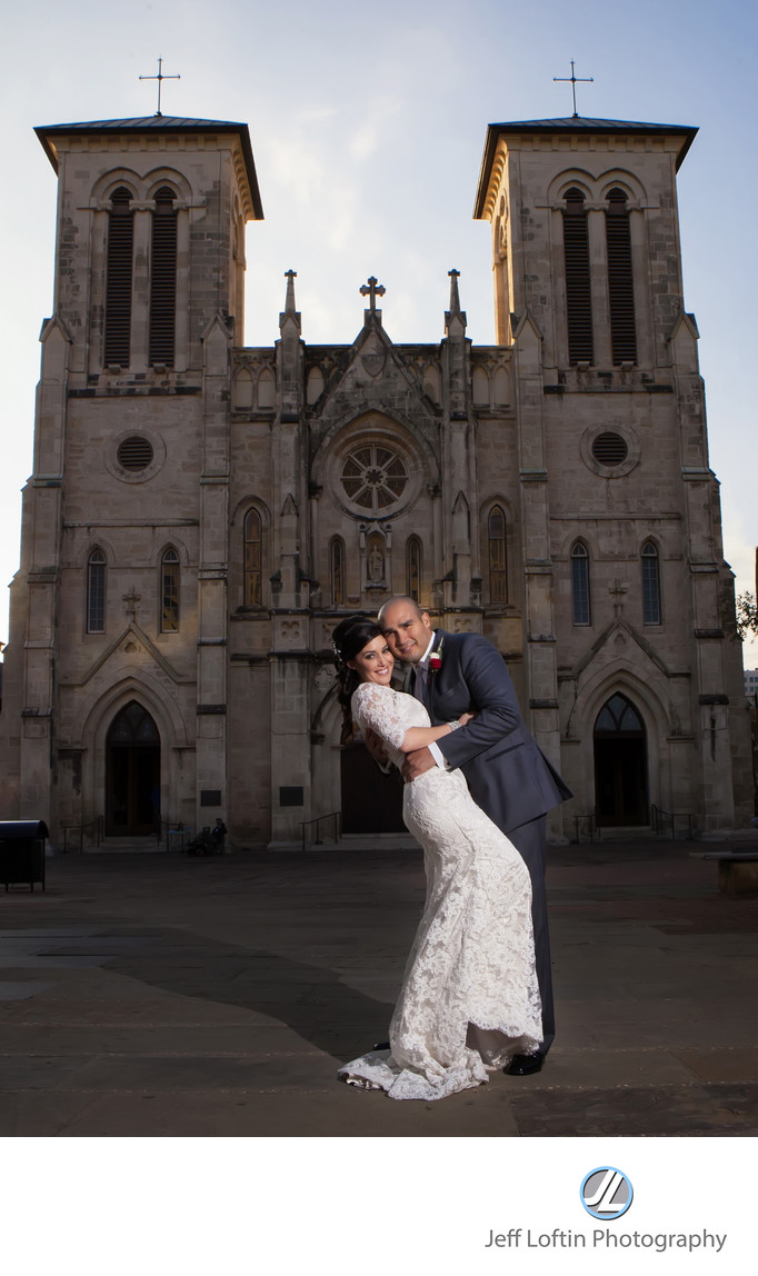 Cathedral of San Fernando wedding photographer