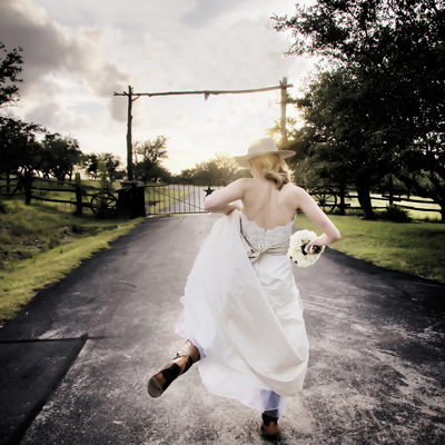 Cowboy bride photographer