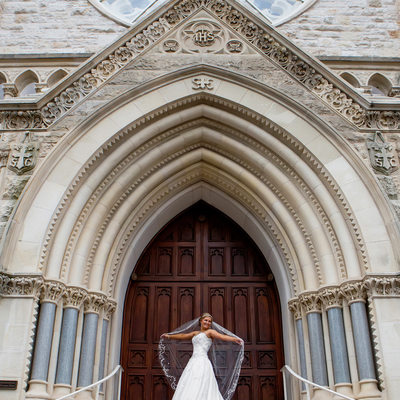St. Mary's Cathedral wedding photographer