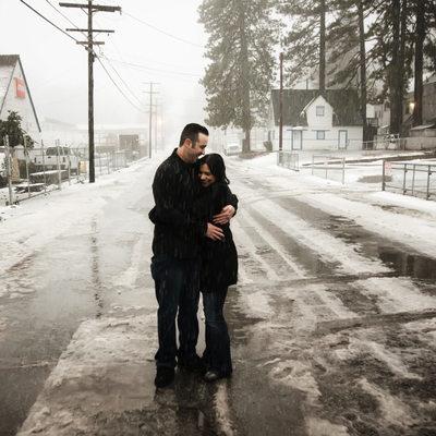 Big Bear California Engagement Photographer