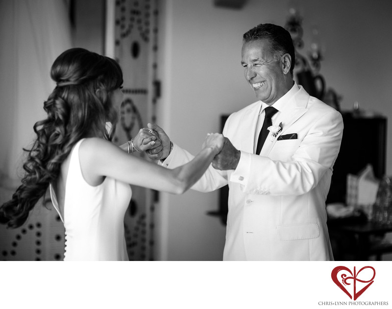 One and Only Palmilla Wedding, Father and Bride Moment