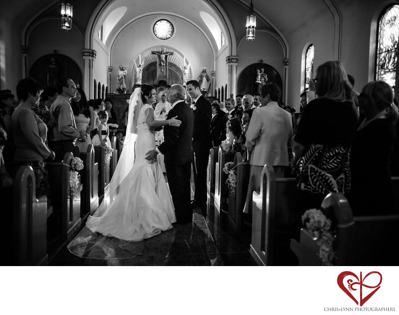 Vancouver Wedding Photographer, Church Ceremony Moment