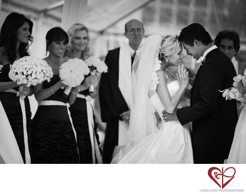 Jewish Wedding Ceremony Moment Photo