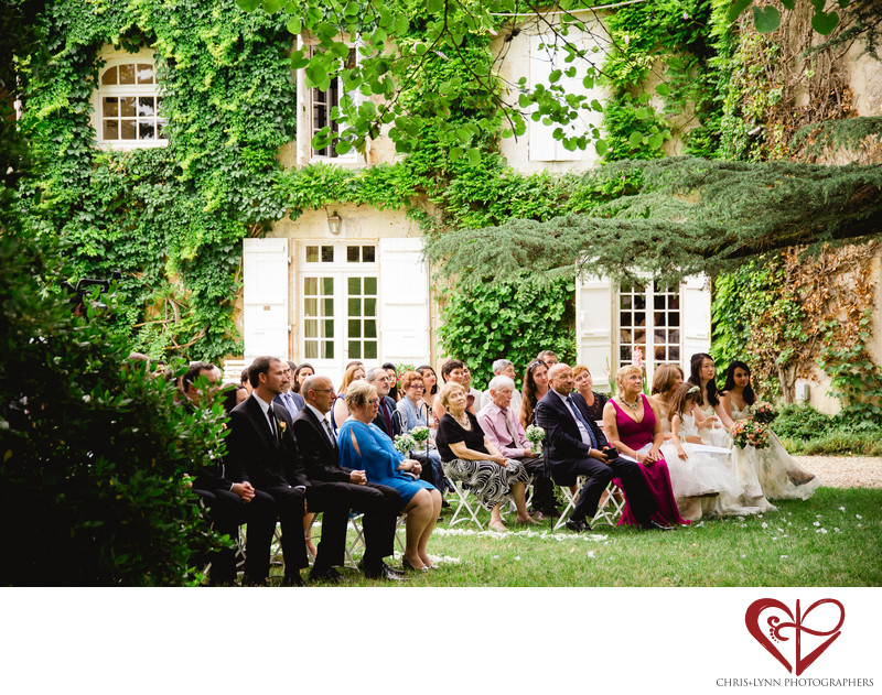 French Chateau Wedding Photos at Malliac