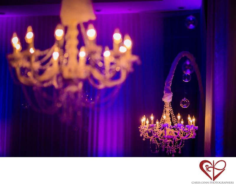 Le Blanc Resort Wedding Reception Decor