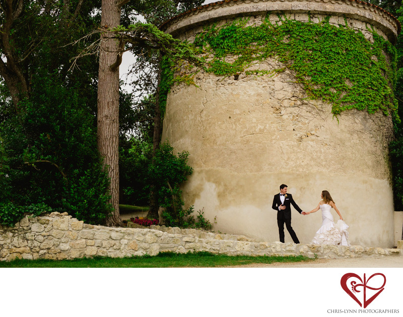 Wedding Photography at French Chateaux