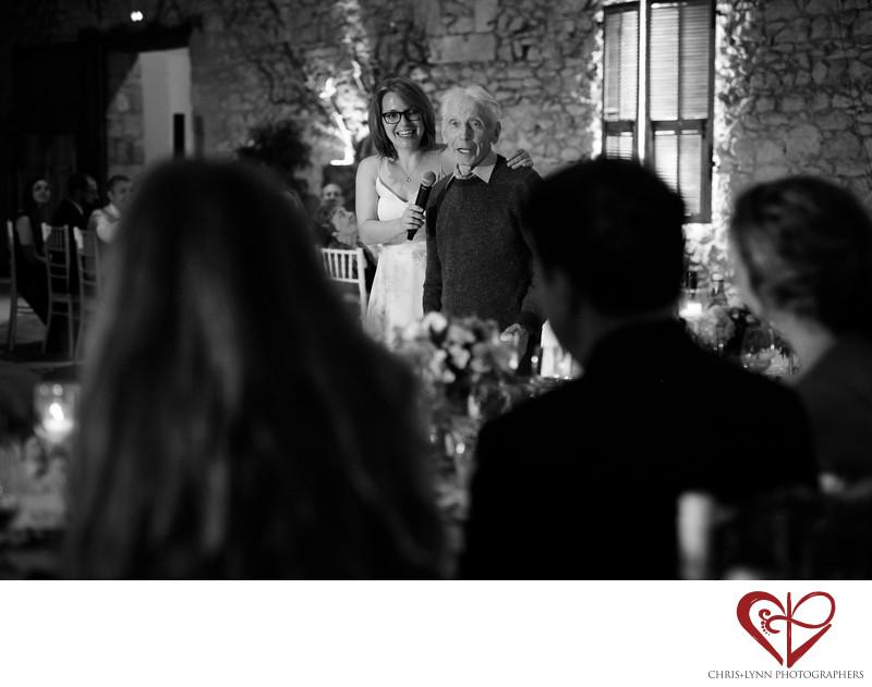 Wedding Reception Photos at Chateau Malliac