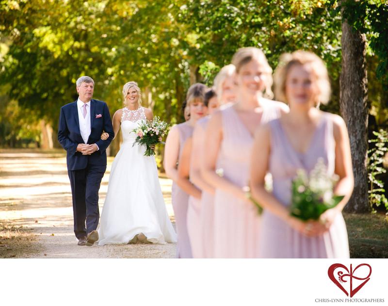 Chateau de St Loup Wedding Photos, ceremony 1