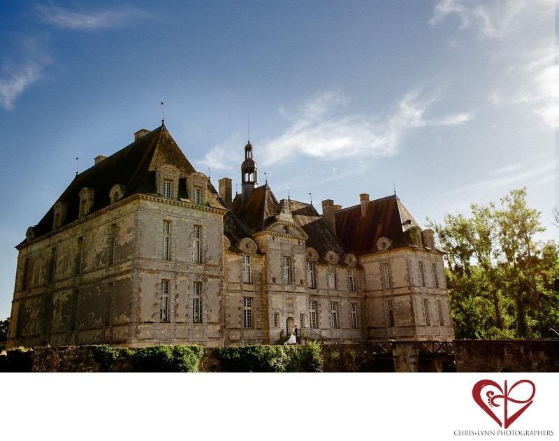 Chateau de Saint Loup Wedding Photography