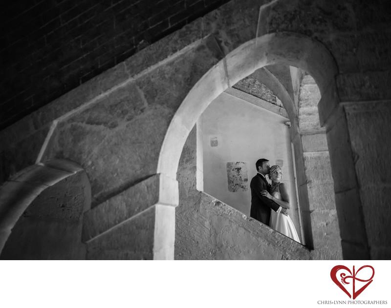 Chateau de Saint Loup Wedding Bride and Groom Pictures 1