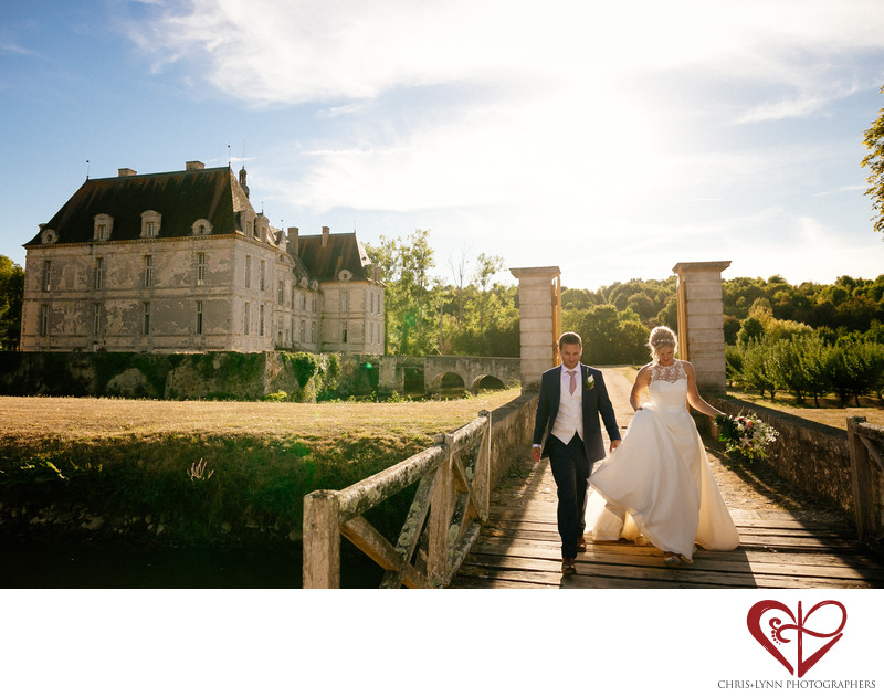 Chateau Saint Loup Wedding Portraits