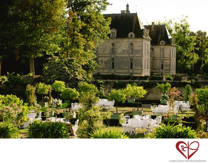 Chateau de Saint Loup Wedding Reception Pictures 1