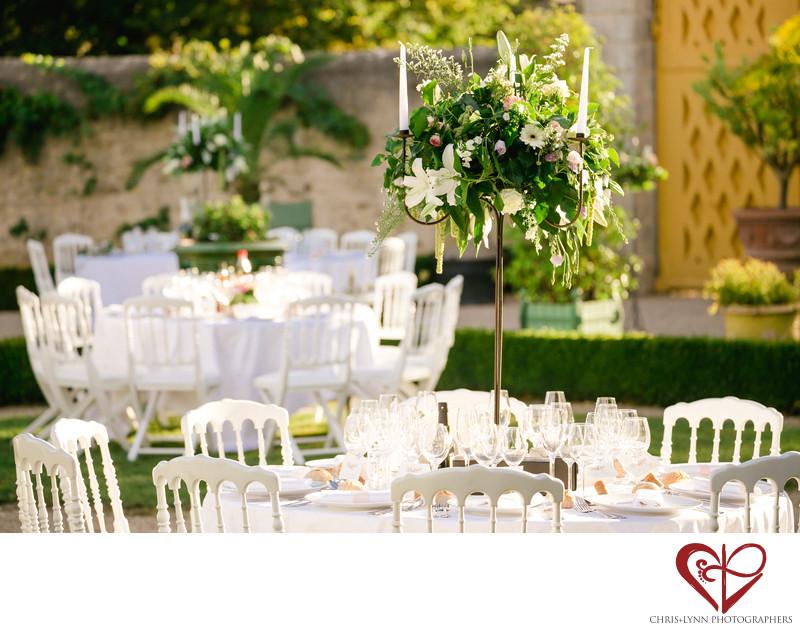 Chateau de Saint Loup Wedding Reception Pictures 6