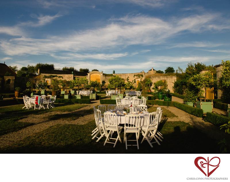 Chateau de Saint Loup Wedding Reception Pictures 7