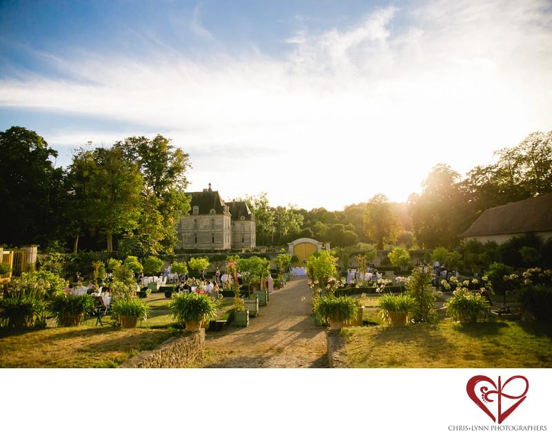 Chateau de Saint Loup Wedding Reception Pictures 10