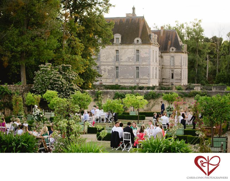 Château de Saint Loup Wedding Reception Pictures 4
