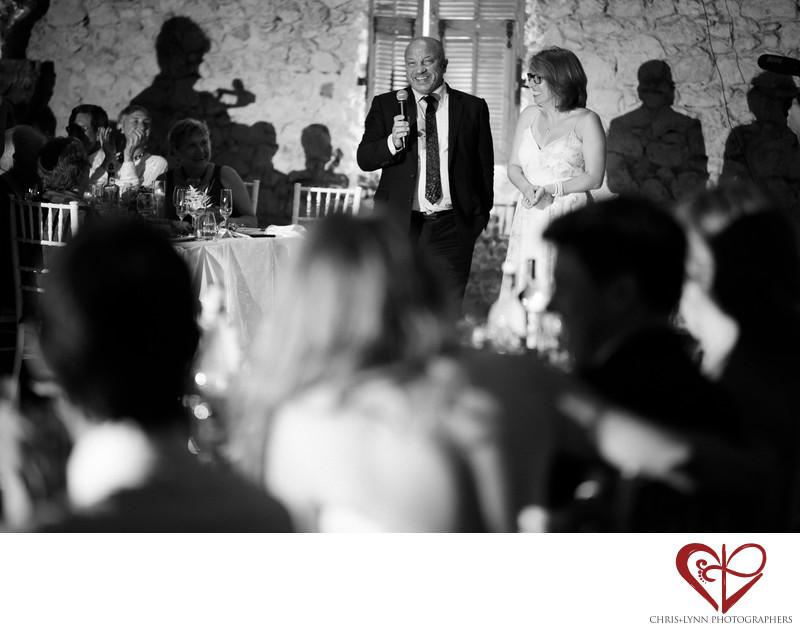 Chateau Malliac Wedding Reception Pictures