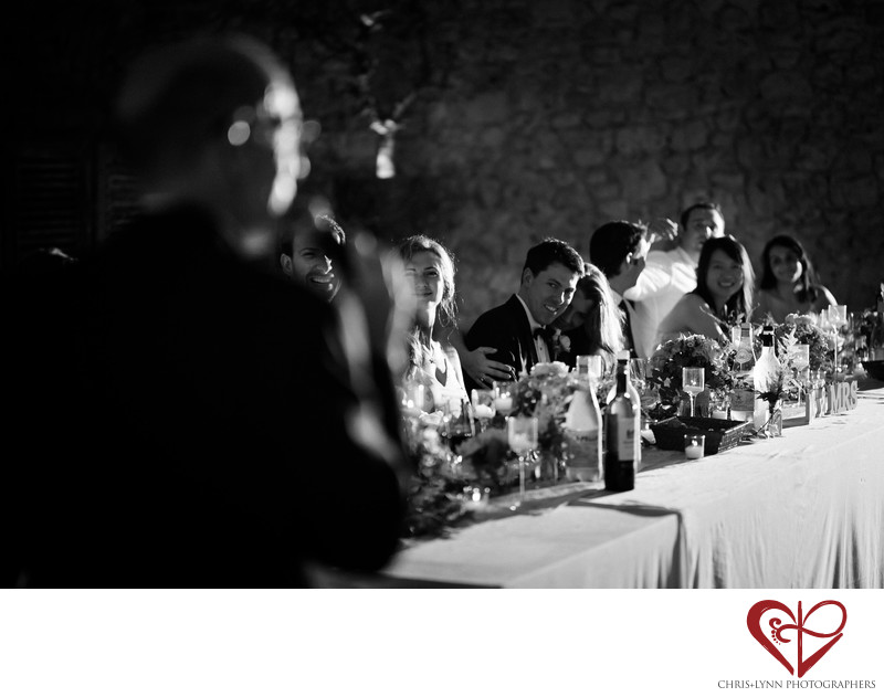 Reception Pictures at Chateau de Malliac Wedding