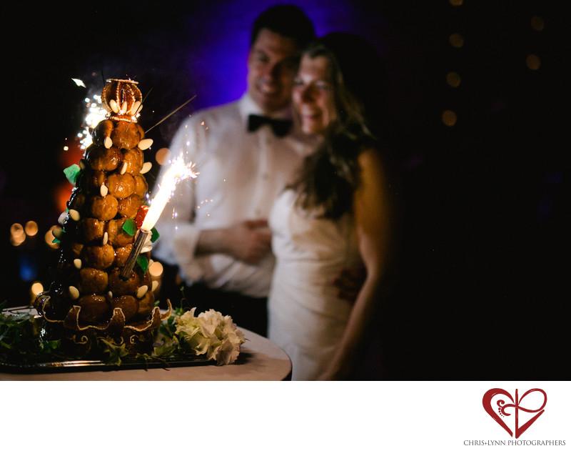 Chateau de Malliac Wedding Cake Photo