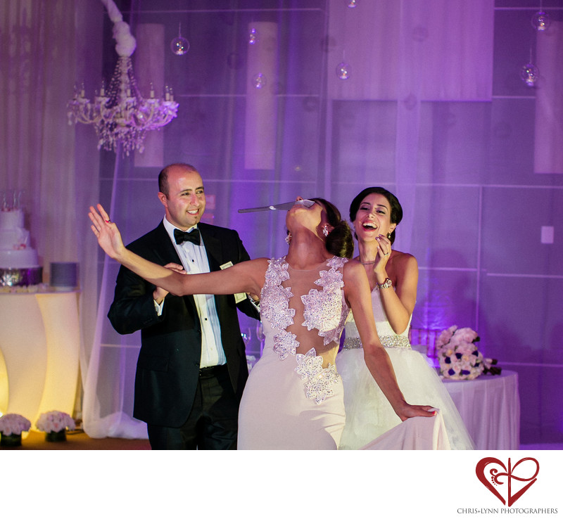 Le Blanc Hotel Persian Wedding Reception Photo