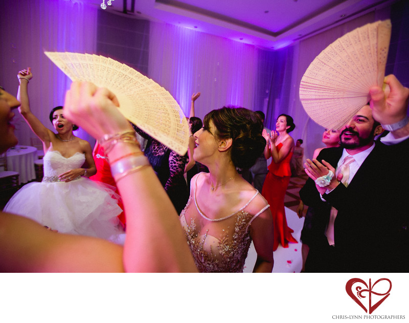 Le Blanc Persian Wedding Reception Dance Photo