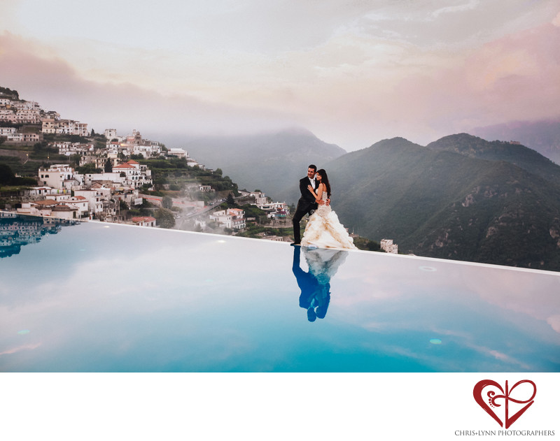 Ravello Italy Destination Wedding at Hotel Caruso
