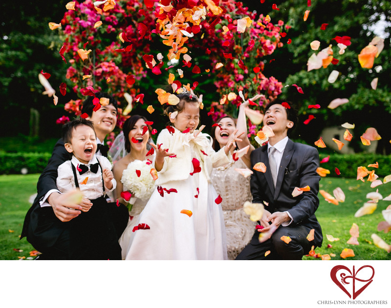 Villa La Vedetta Wedding Photography, flower girl