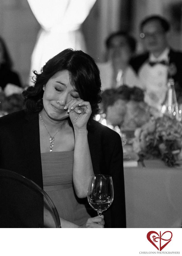 Italy Destination Wedding, reception toast