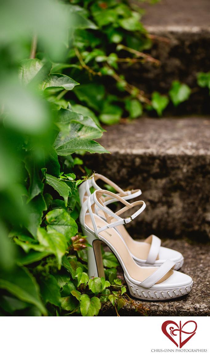 Wedding Shoes Photo at Chateau Malliac Wedding