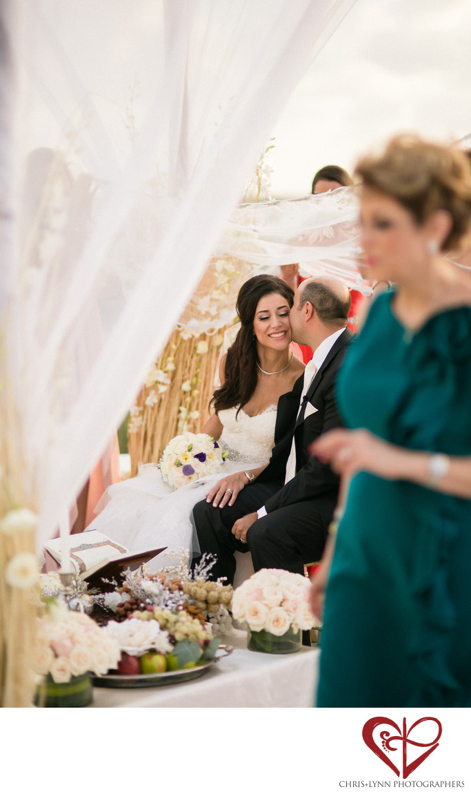 Persian Wedding Ceremony at Le Blanc Resort