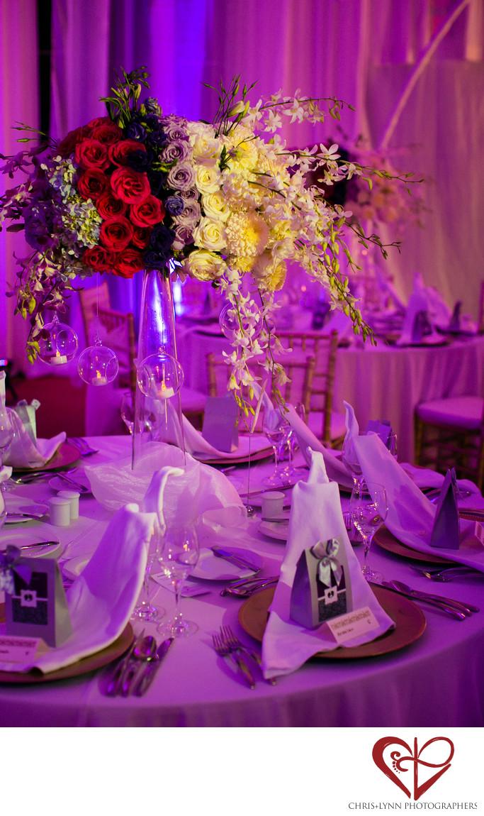 Le Blanc Spa Resort Wedding Tablescape details