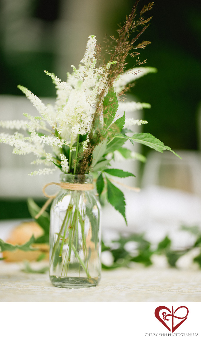 France Chateau Weddings, Table Decor