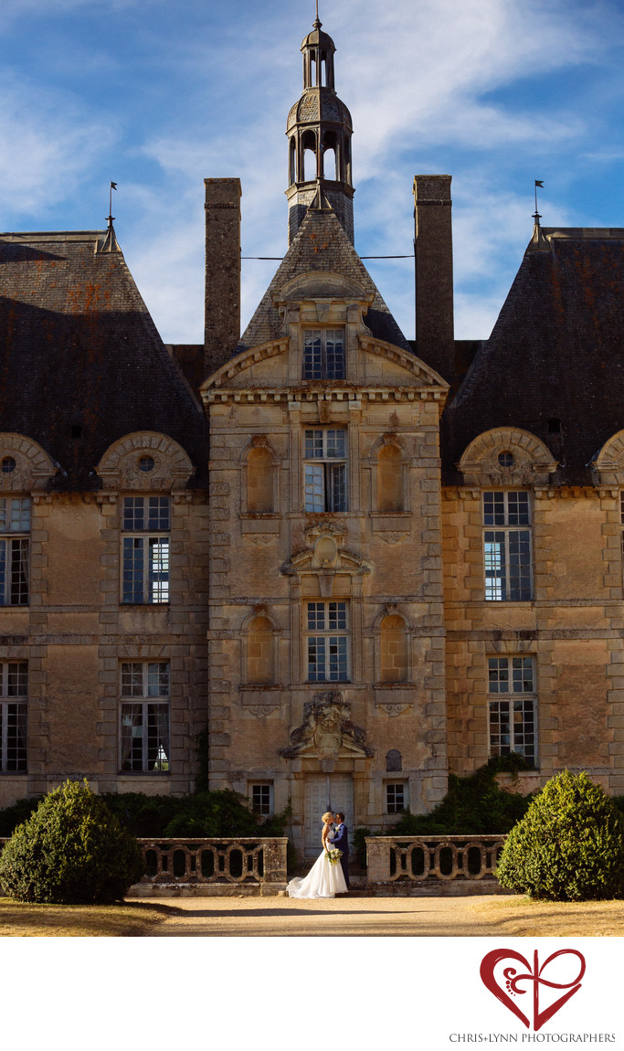 Chateau de Saint Loup Wedding Portraits 7