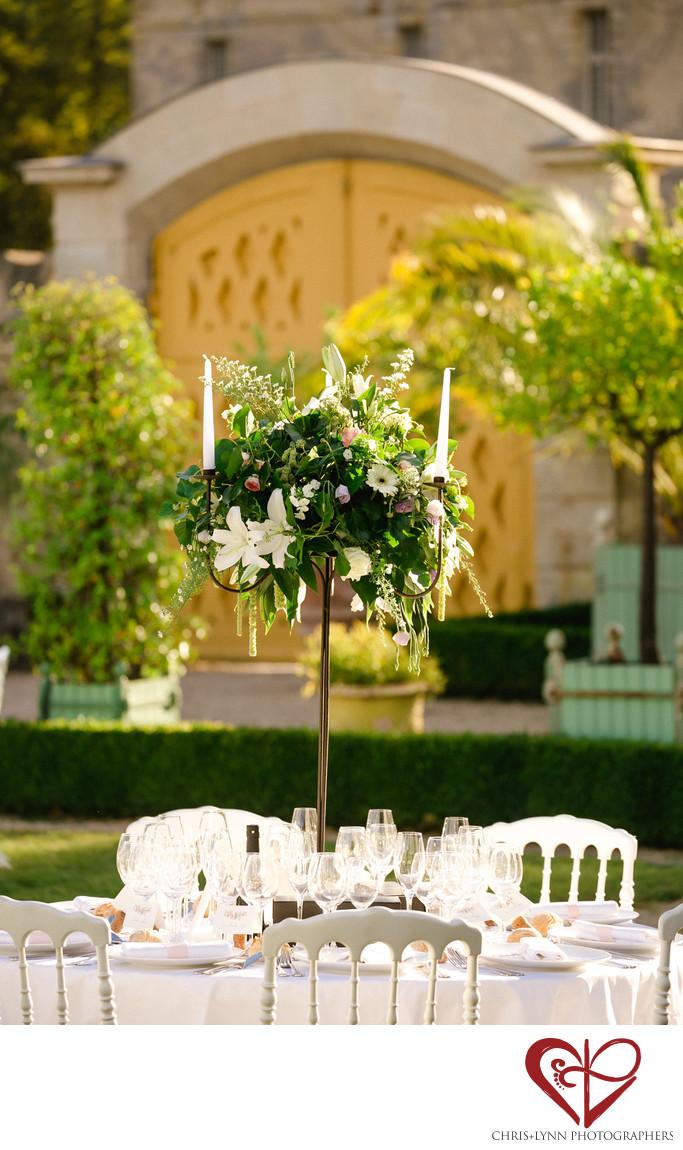 Chateau de Saint Loup Wedding Reception Pictures 3