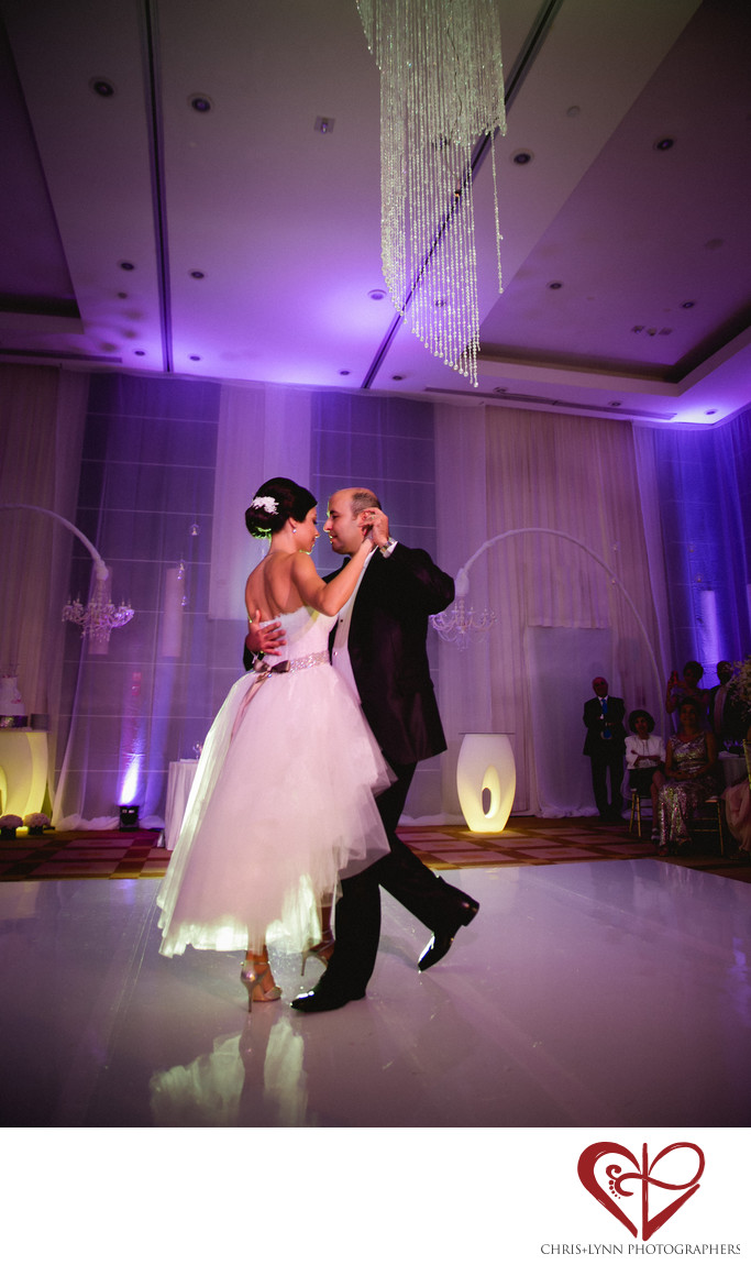 Le Blanc Resort Wedding, First Dance Photo