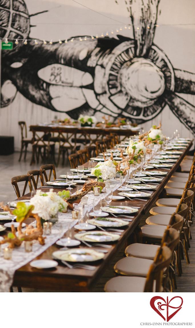 Persian Wedding Reception at Hotel El Ganzo, decor 1