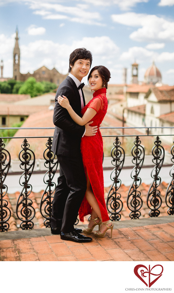 Florence Wedding Photos, Chinese Tea Ceremony 1