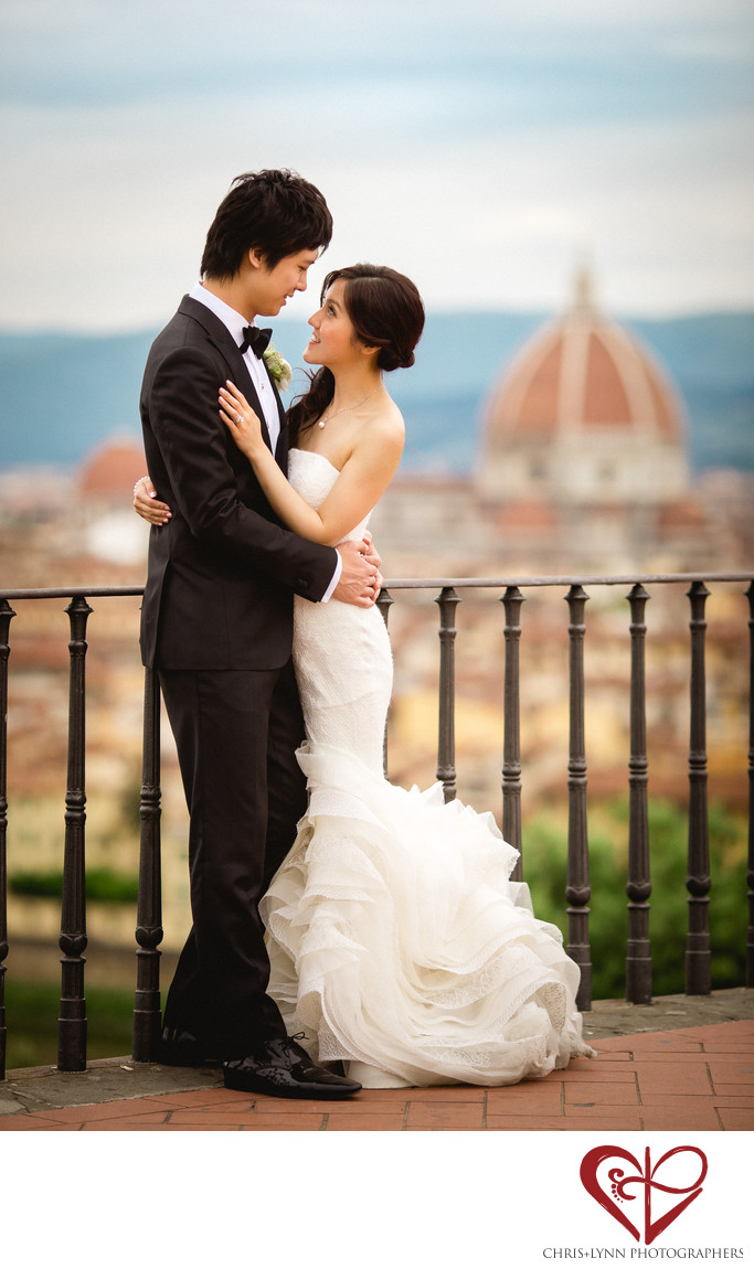 Wedding Photos in Florence, Italy