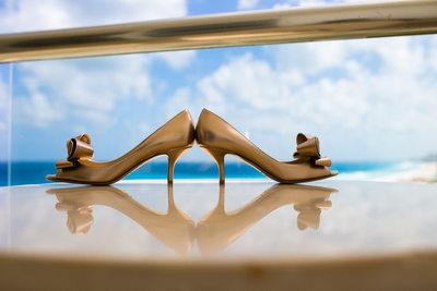 Cancun Wedding Photographers, Wedding Shoes