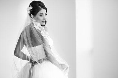 Persian Cancun Wedding Bride
