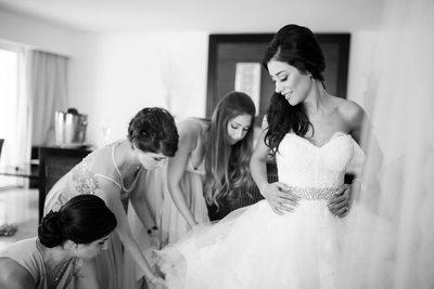 Persian Bride at Le Blanc Spa Resort Cancun