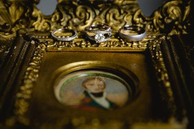 Chateau Malliac, France Wedding Ring Details Photos