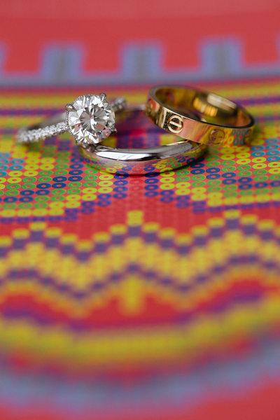 Hotel El Ganzo Persian Wedding, Wedding Rings