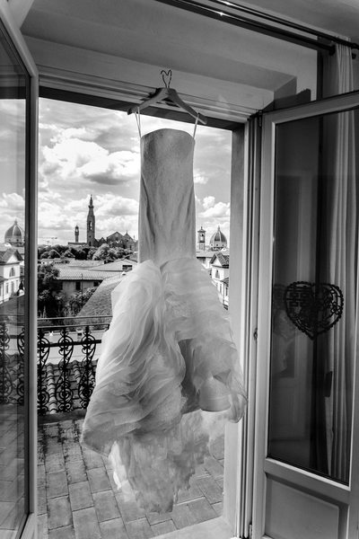 Hotel Home Wedding Photos in Florence 1