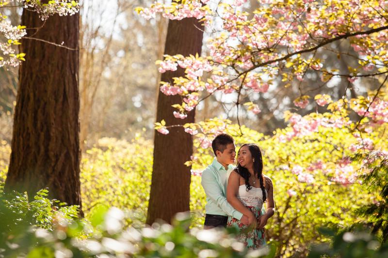 Engagement Photos UW Arboretum Seattle