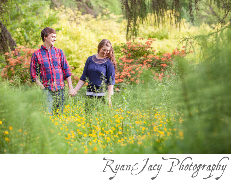 Engagement Photography UW Arboretum Seattle